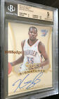 2013-14 SELECT SIGNATURES AUTO: KEVIN DURANT #18 BGS 9 MINT WITH AUTOGRAPH 10