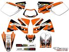 2001-2002 KTM EXC 125 200 250 300 380 400 520 GRAPHICS SET DECO DECALS STICKERS