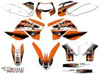 2008-2011 KTM EXC XCF 125 250 300 450 530 GRAPHICS SET KIT DECO DECALS 2009 2010