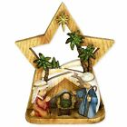 Roman Inc Nativity Pageant with Glass Votive Cup