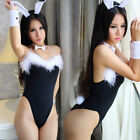 Adult Women Rabbit Bunny Halloween Party Cosplay Costume Sexy lingerie Outfit