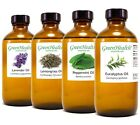 8 fl oz Essential Oil in Amber Glass Free Shipping 60+ Pure Natural Oils
