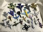 LOT of 24 DIECAST AIRPLANES JETS AIRCRAFT HELICOPTER MILITARY BOMBER COMMERCIAL
