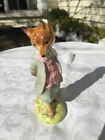 Beswick England Beatrix Potter Foxy Whiskered Gentleman Gold Oval