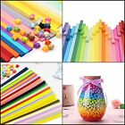 Colorful Folding Paper Strips For Origami Art Lucky Star Making Craft Projects