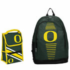 Oregon Ducks Forever Collectibles Hpb17 Backpack & Lunchbox Combo Back Packs
