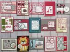 15 Valentines Day Love greeting cards envelopes Stampin Up+more