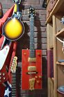 MINT Gretsch Bo Diddley Signature Series Firebird Red Electric Square Guitar