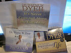 Wayne W Dyer CD lot setIts Never Crowded along the Extra MileInspiration Life