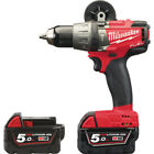 Milwaukee M18 FUEL™ PERCUSSION DRILL WITH 2X 5.0AH LI-ION BATTERIES m18fpd