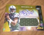 2013 Topps Finest Geno Smith Gold Refractor Rookie Auto Jersey #40 50 Jets Jets