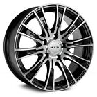 RTX Baron Wheels 15x6 Black with Machined +38 4x100