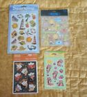 Set Of 4 Sticker Packages Seaside Zoo Ghosts  Strawberry Shortcake