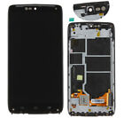 Black For Motorola Droid Turbo XT1254 LCD Touch Screen Digitizer Replace Frame
