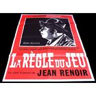 THE RULES OF THE GAME French Movie Poster 21x31 R1960 Jean Renoir Marcel Da