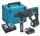 Makita DHR202RMJ 18V 2kg Lithium SDS Hammer Drill + 2 x 4.0 Batteries + Case