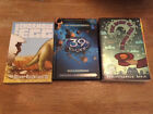 Lot of 3 Books 39 Clues Hardback with 4 cards + 2 other AR Books Excellent