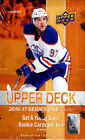 2016 17 UPPER DECK SEALED HOBBY HOCKEY SERIES 1 BOX AUSTIN MATTEWS + OTHERS