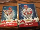 2013 Topps Baseball Spring Fever Complete Set (50) Mint ^ Trout Posey