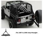 Jeep Rear Bumper System and Tire Carrier for 87-06 Jeep Wrangler - SRC Classic