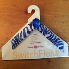 Kids Small Lindsay Phillips Switch Flops Straps Blue ABBEY New