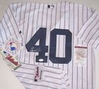 Luis Severino Signed NY Yankees Home Pinstripe Jersey JSA Witnessed COA