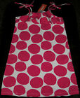 Gymboree Daisy Park pink polka dot knit summer ruffle dress NWT 6