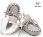 Baby Fur Booties Ugg Inspired Baby Boots Soft Sole baby shoes Fur first walkers