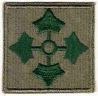 WW2 Large 4th Infantry Division Clover Points to Sides Patch