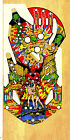 WILLIAMS GORGAR Pinball Machine Playfield Overlay