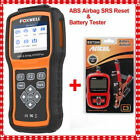 Ancle Bt200 Battery Tester Foxwell Nt630 Abs Airbag Srs Reset Obd2 Scanner