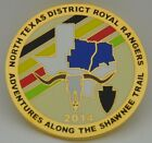 2014 Royal Rangers North Texas Winter Camp Challenge Coin