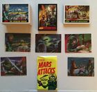 MARS ATTACKS HERITAGE (Topps 2012) Complete Set +ALL 30 Chase Cards (85)+Sketch