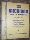 CLARK MICHIGAN MODEL 475 III A ARTICULATED TRACTOR SHOVEL  PARTS MANUAL 2368-R1