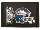PHILADELPHIA EAGLES OFFICIAL TEAM LOGO NYLON TRIFOLD WALLET NEW RICO INDUSTRIES