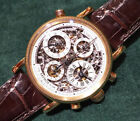 Chronoswiss solid 18kt yellow gold, Pathos rattrapante (split sec), GREAT PRICE!