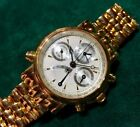 Paul Picot Technicum solid 18kt gold case and bracelet! Rattrapante, Great Deal!