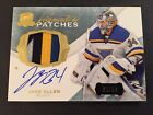 2014-15 UD The Cup Signature Patches Jake Allen 30 99 4 Color 14-15