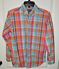 Polo Ralph Lauren Boys Plaid Large 14 16 EUC