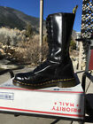 Dr Martens boots US 7 black 14eye shoes doc 1914 uk6 airwair zip 1182c beatrice