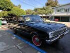 1962 Ford Ranchero 1962 Ford Ranchero 144ci 4 speed manual nothing to spend daily driver