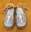 Circo Toddler Baby Girl Shoes Clear Jelly Sandals Size 2 NWT