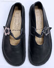 BEAR FEET Girls Black Leather Mary Janes Shoes Youth Sz 3