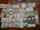 50 STAMPIN UP Handmade Holiday Cards fronts 50 total