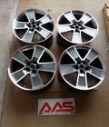 SLP 2010 2014 CHEVROLET CAMARO 20 INCH REDLINE WHEEL SET 20 X 9 GRAY