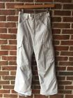 BURTON Ivory Beige Winter Snow Snowboard Ski Pants Boys Girl Youth Large 14 16