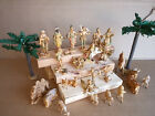 Fontanini Vintage 28 pc 5 Nativity Set Depose Made in Italy 1983