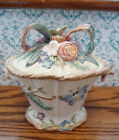 FITZ & FLOYD china WOODLAND SPRING candy box and lid 6