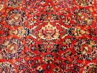 Antique Persian Tabriz Style RUNNER 6 X 2.6 Rug Red Madder Silk pile Belgium