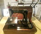 RARE ANTIQUE SINGER SEWING MACHINE G8249481 WITH CASE